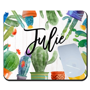 Cactus Personalized Mouse Pad