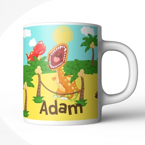 Dinosaur Personalized Mug for Kids