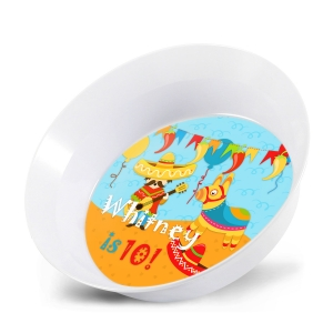 Fiesta! Personalized Kids Bowl