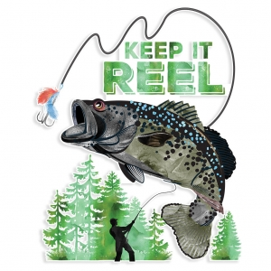 Keep It Reel Decal