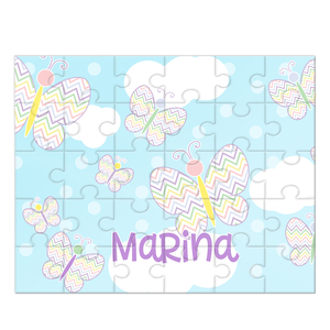 Butterfly Personalized Kids Puzzle