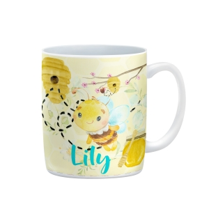 Honey Bee Personalized Girls Birthday Mug
