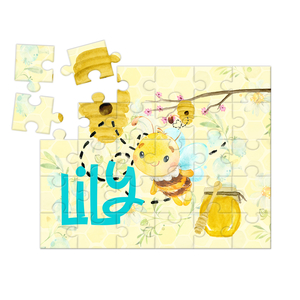 Honey Bee Personalized Kids Puzzle