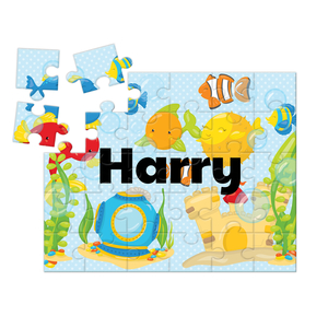Ocean Adventure Personalized Kids Puzzle