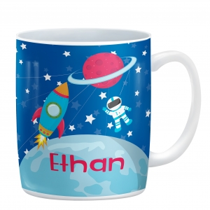 Space Astronaut Personalized Kids Mug