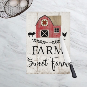Farm Sweet Farm Cutting Board