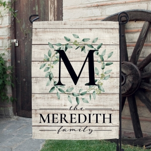 Farmhouse Wreath Farmhouse Decor Garden Flag - Linen Color