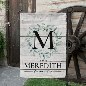 Farmhouse Wreath Farmhouse Decor Garden Flag