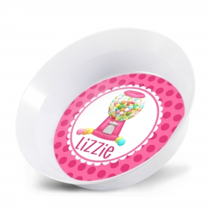 Gumball Girls Personalized Bowl
