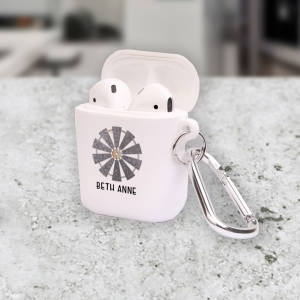 Personalized Farmhouse Windmill Apple AirPods Cas