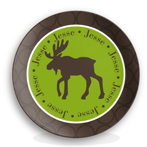 Moose Boys Personalized Plate