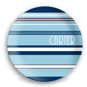 Nautical Boys Personalized Plate