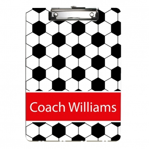 Soccer Personalized Clipboard