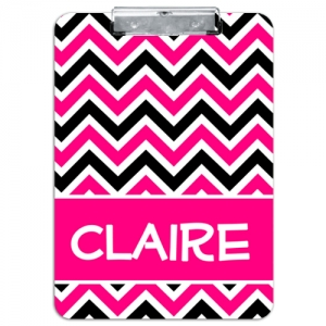 Zig Zag Personalized Clipboard