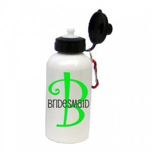 Bridal Party Monogrammed Water Bottle