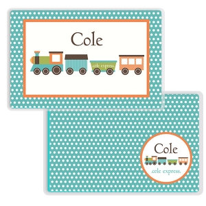 Train Personalized Place Mat