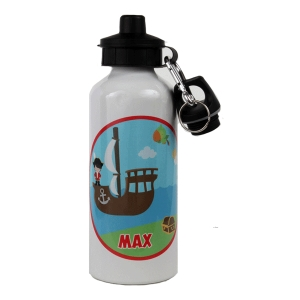 Pirate Personalized Water Bottle