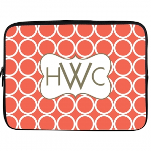 Hoops Print Laptop Sleeve