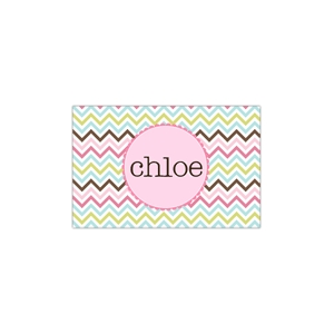 Cotton Candy Personalized Place Mat