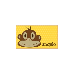 Monkey Boy Personalized Place Mat