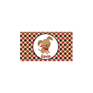Puppy Boys Personalized Place Mat