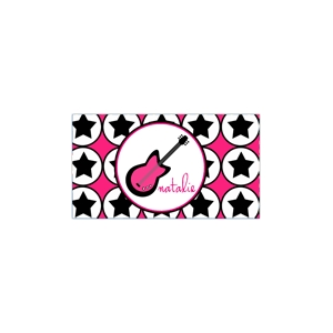 Rocker Chick Personalized Place Mat