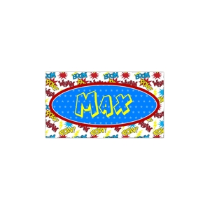 Super Hero Boys Personalized Place Mat
