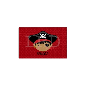 Pirate Face Personalized Placemat