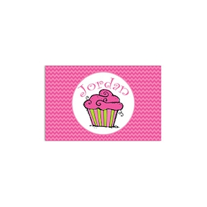 Cupcake Girls Personalized Placemat