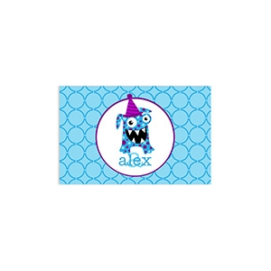 Happy Birthday Monster Personalized Placemat