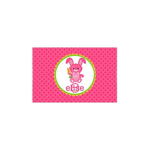 Hippity Hop Bunny Personalized Placemat