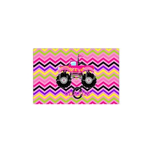 Monster Truck Girls Personalized Placemat