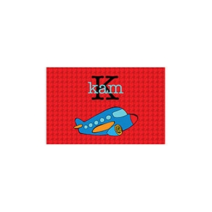 Airplane Boys Personalized Placemat