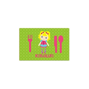 Rag Doll Girl Personalized Placemat
