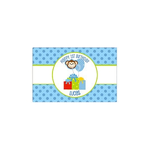 Birthday Balloons Personalized Placemat