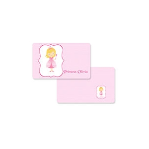 Princess Girls Personalized Placemat