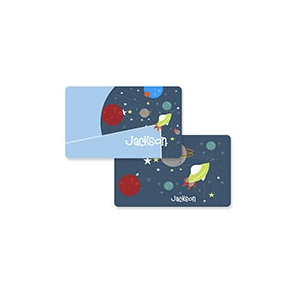 Rocket Ship Boys Personalized Placemat