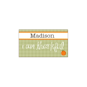 Gingham Girls Place Mat