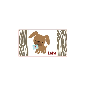 Puppy Love Valentine Placemat