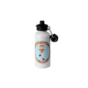 Football Personalized Water Bottle