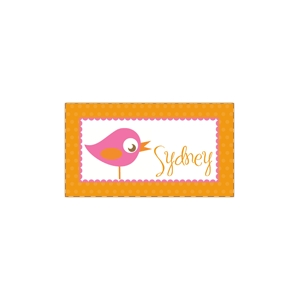 Sweet Birdie Personalized Place Mat