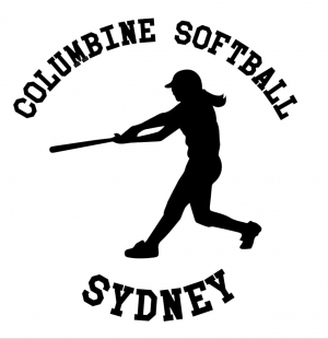 Softball Decal