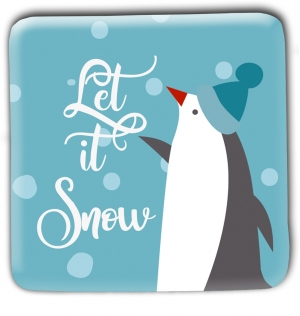Let It Snow Christmas Magnets
