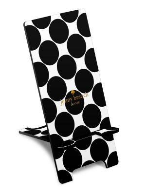Personalized Big Dot Phone Stand