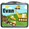 Construction Personalized Boys Lunchbox