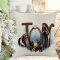 Joy - Nativity Poly/Linen Pillow Cover Christmas Decor