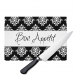 Damask Monogrammed Cutting Board