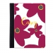 Bold Flower Monogrammed iPad Folio Jacket