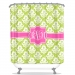 Damask Ikat Personalized Shower Curtain