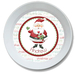 Jolly Saint Nick Personalized Christmas Bowl